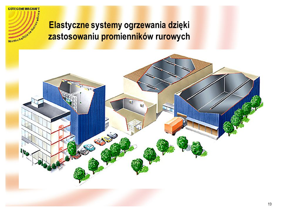 Elastyczne systemy ogrzewania dzięki zastosowaniu promienników rurowych