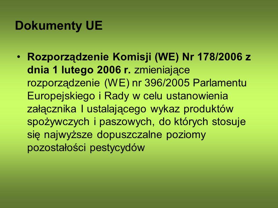 Dokumenty UE
