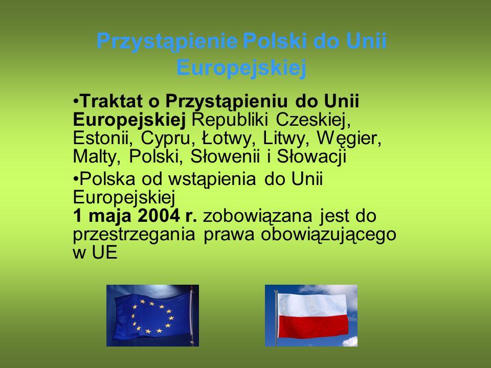 Przystąpienie Polski do Unii Europejskiej