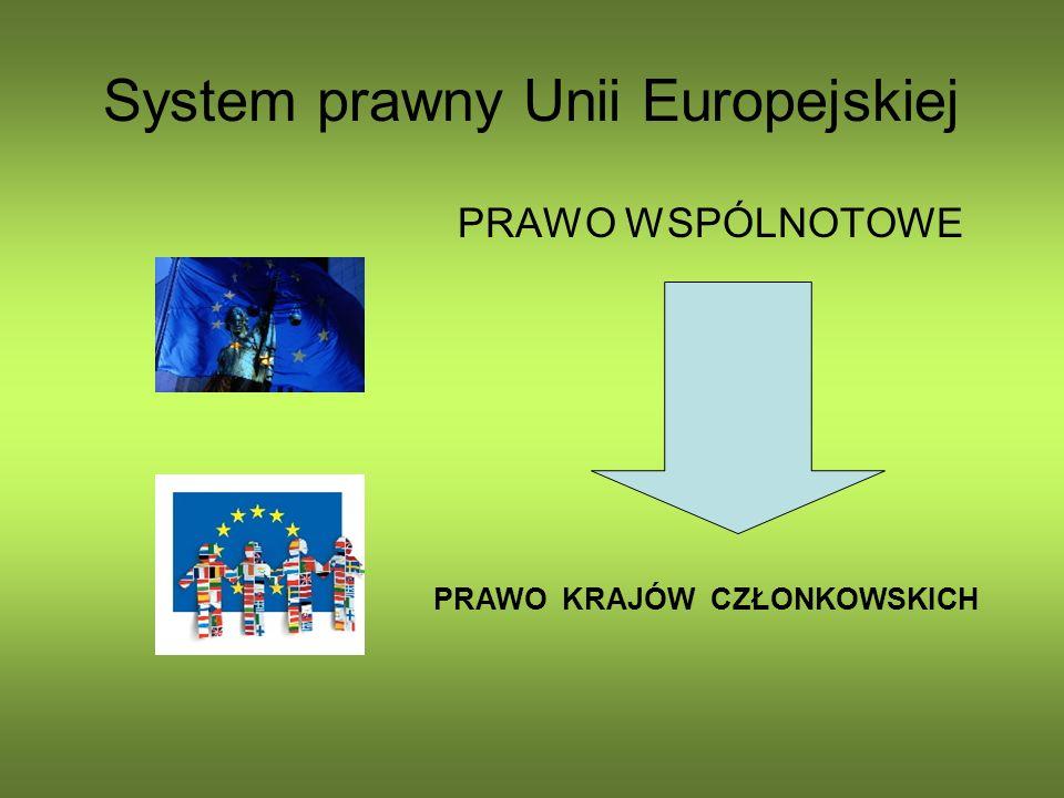 System prawny Unii Europejskiej