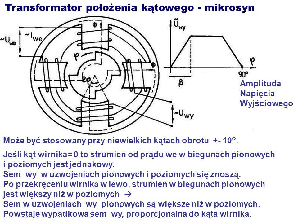 Transformator położenia kątowego - mikrosyn
