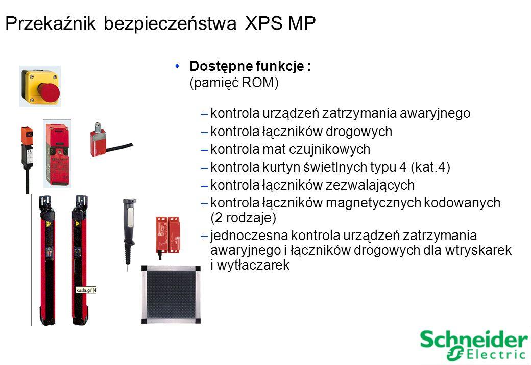 Przekaźnik bezpieczeństwa XPS MP