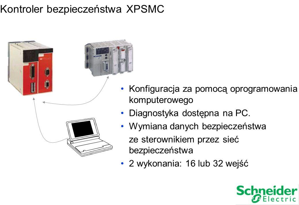 Kontroler bezpieczeństwa XPSMC