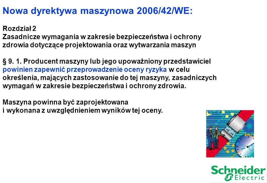 Nowa dyrektywa maszynowa 2006/42/WE: