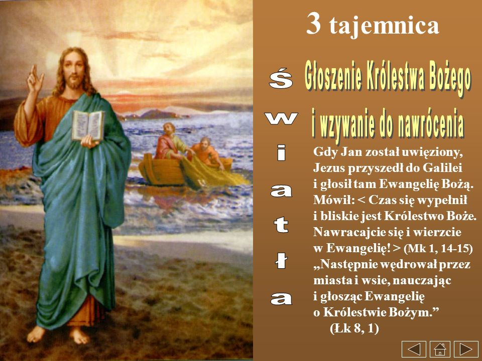 Głoszenie Królestwa Bożego i wzywanie do nawrócenia