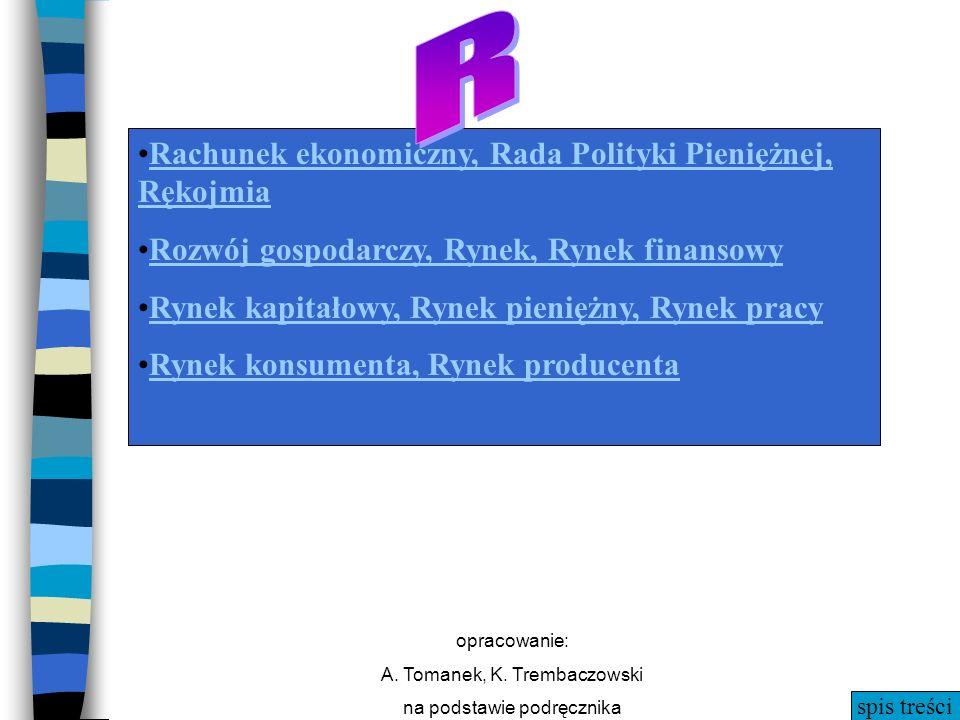 R R Rachunek ekonomiczny, Rada Polityki Pieniężnej, Rękojmia