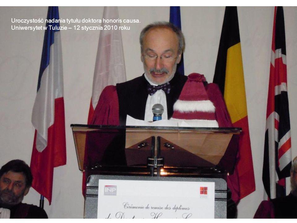 Uroczystość nadania tytułu doktora honoris causa.
