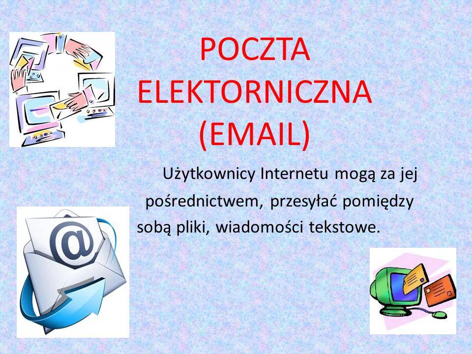 POCZTA ELEKTORNICZNA (EMAIL)
