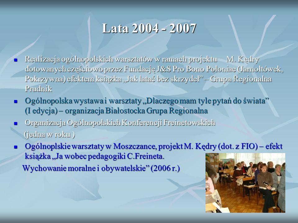 Lata 2004 - 2007