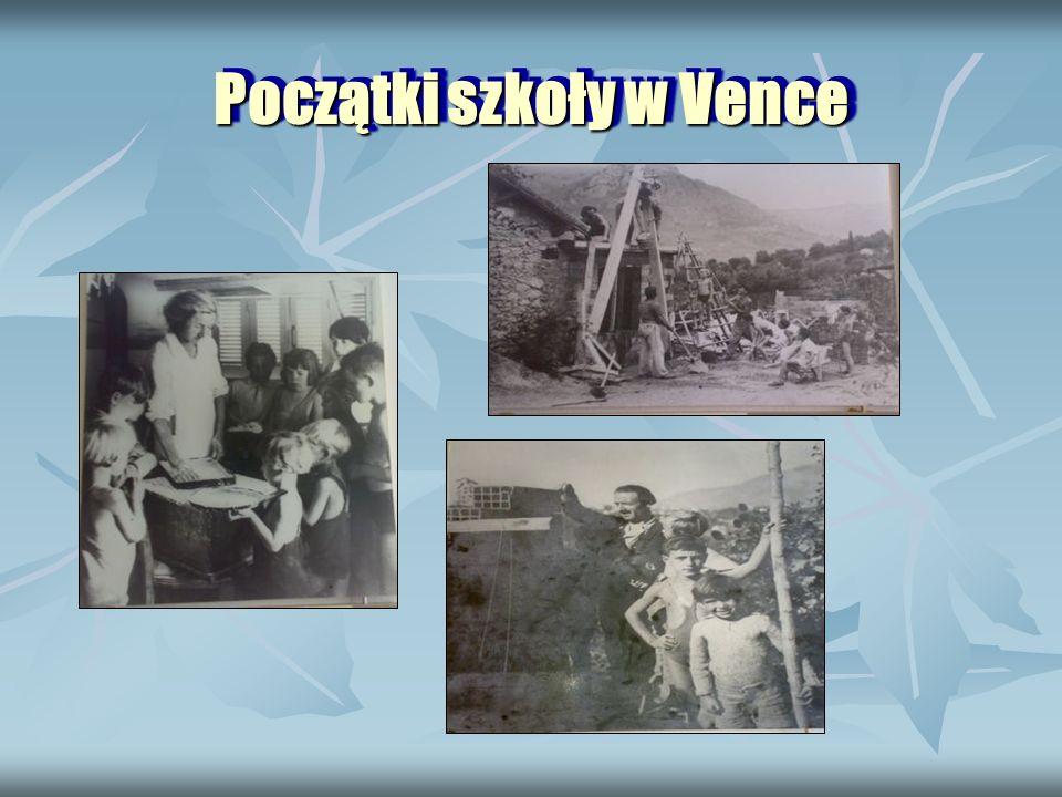 Początki szkoły w Vence