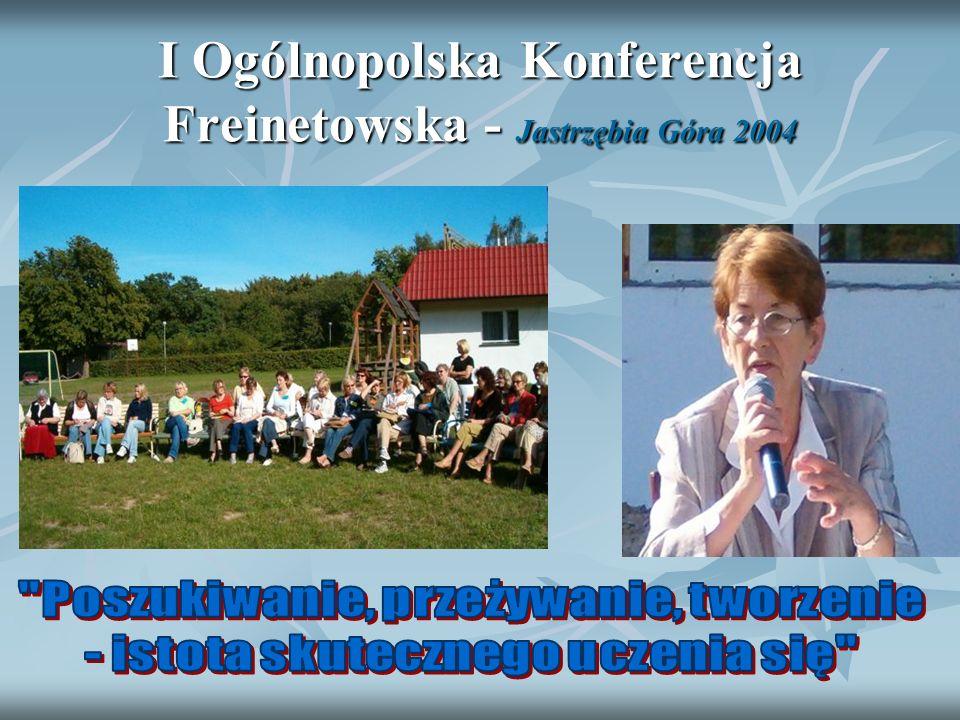 I Ogólnopolska Konferencja Freinetowska - Jastrzębia Góra 2004