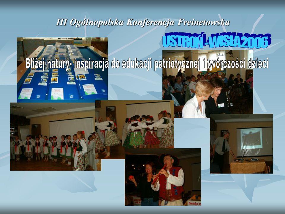 III Ogólnopolska Konferencja Freinetowska