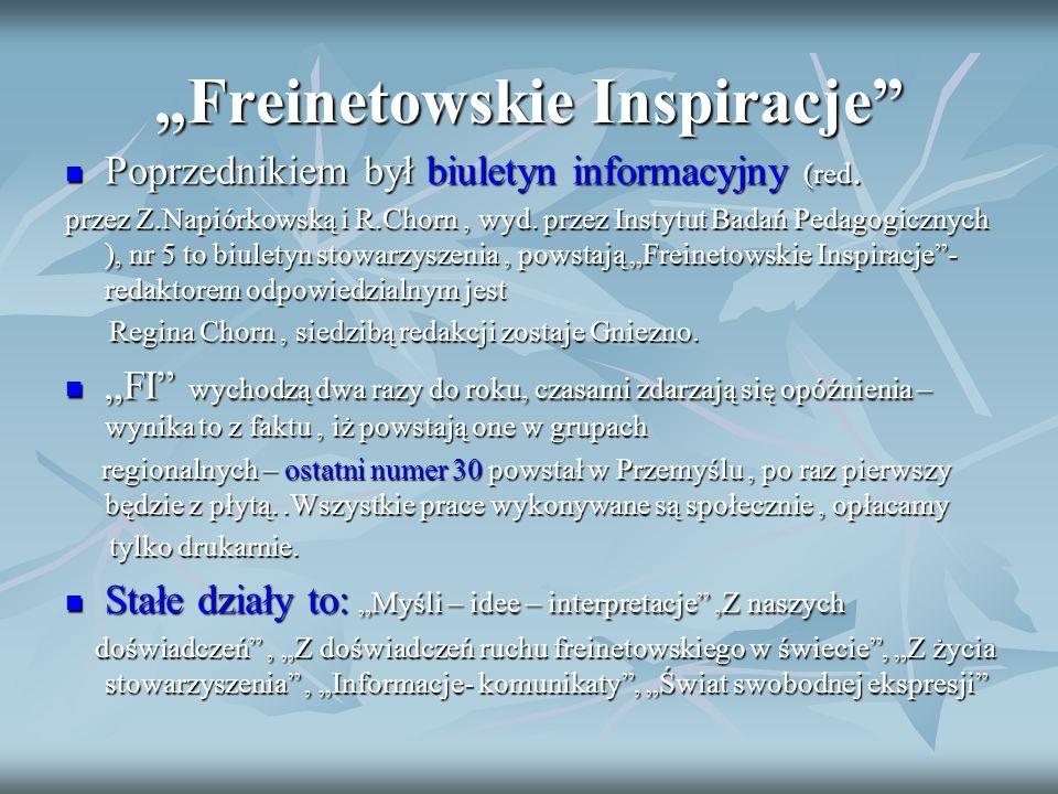"""""""Freinetowskie Inspiracje"""