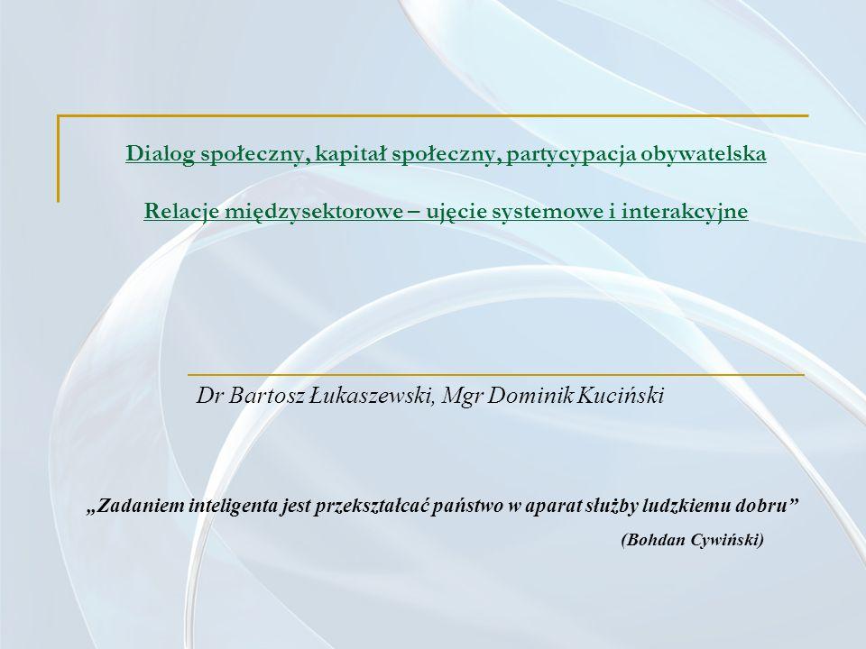 Dr Bartosz Łukaszewski, Mgr Dominik Kuciński