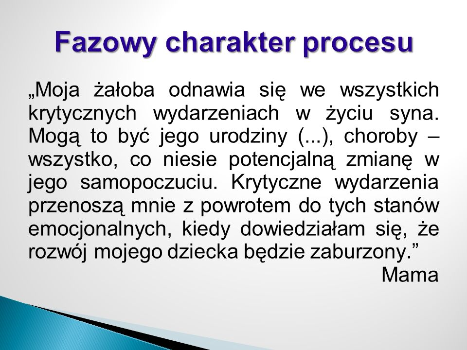 Fazowy charakter procesu