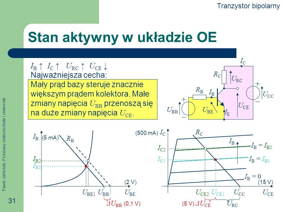 Stan aktywny w układzie OE