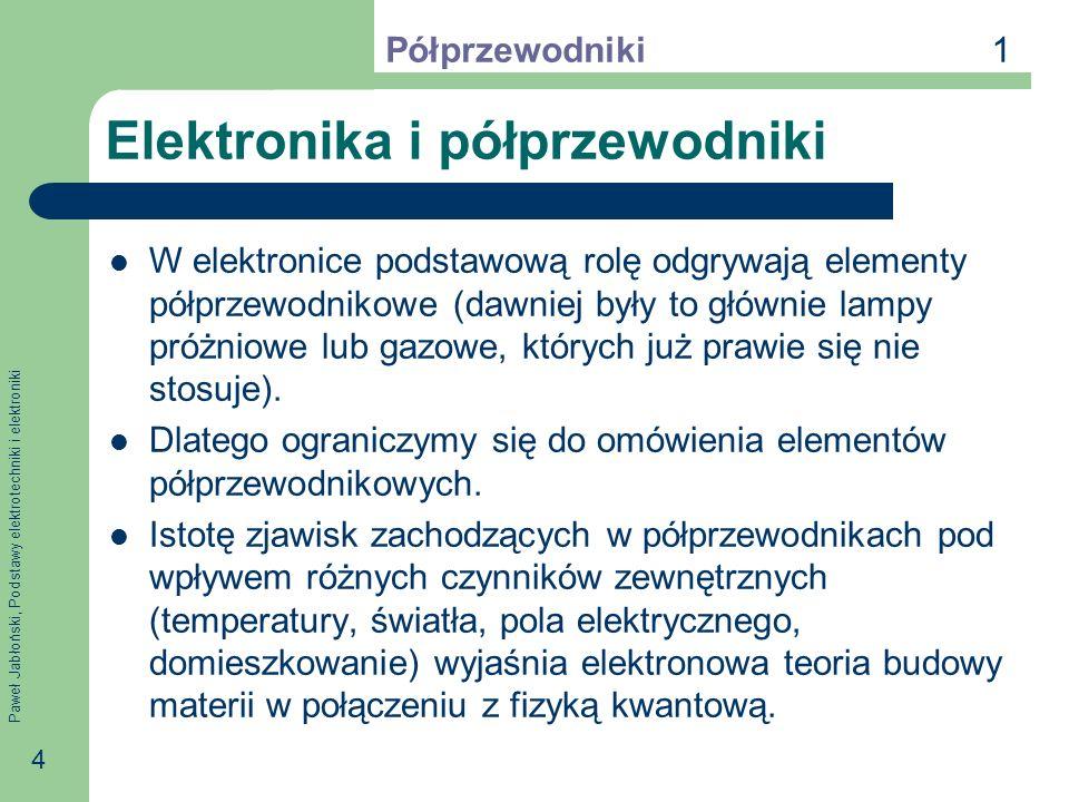 Elektronika i półprzewodniki