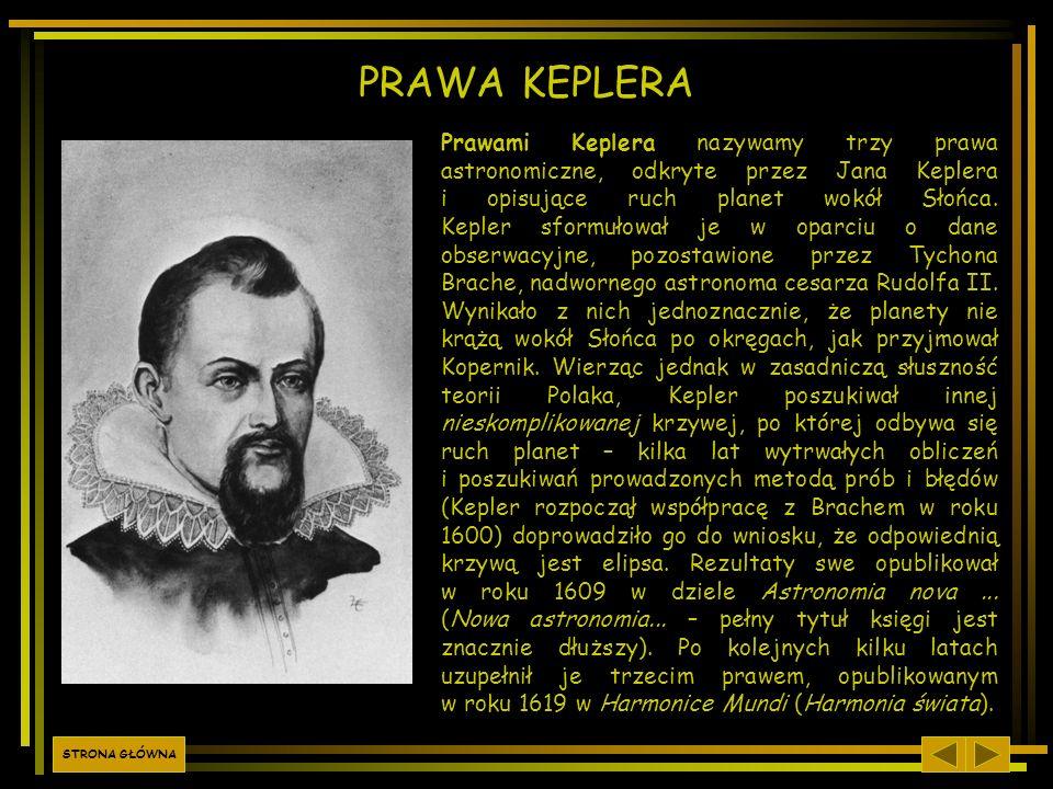 PRAWA KEPLERA