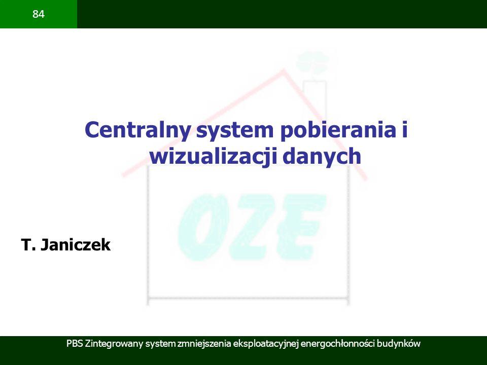 Centralny system pobierania i wizualizacji danych
