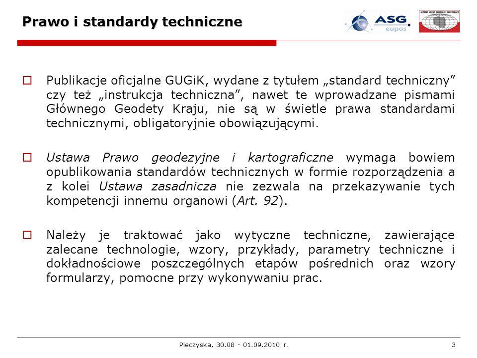 Prawo i standardy techniczne