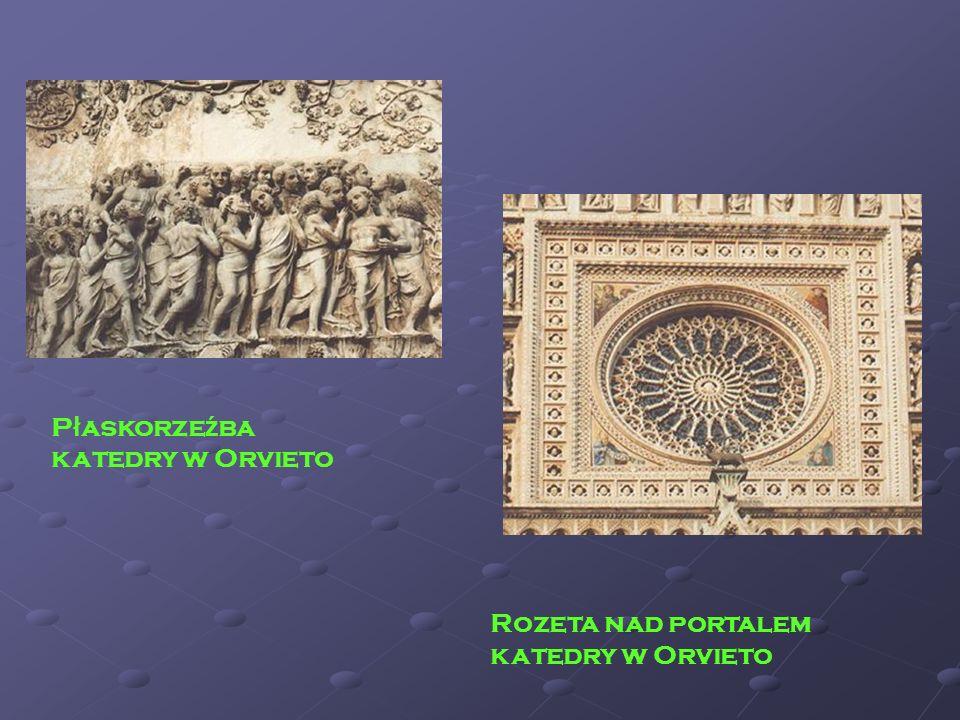 Płaskorzeźba katedry w Orvieto