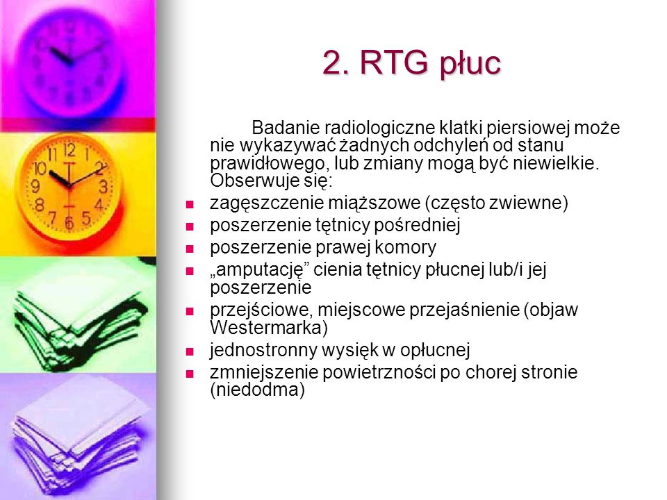 2. RTG płuc