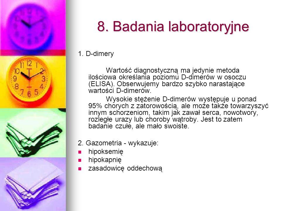 8. Badania laboratoryjne