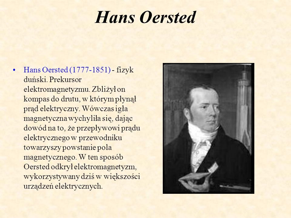 Hans Oersted