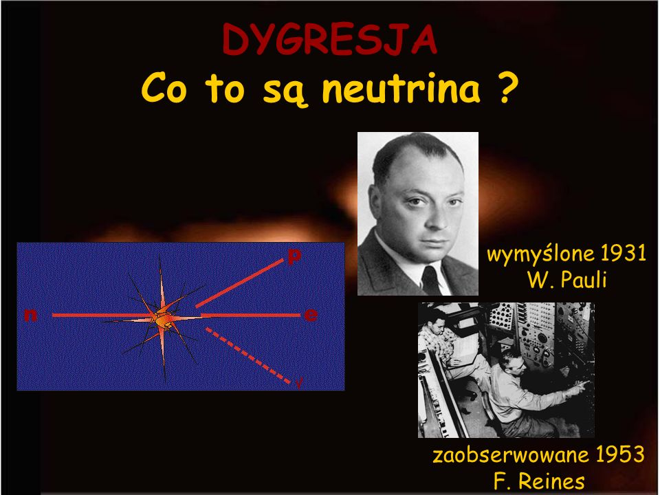 DYGRESJA Co to są neutrina