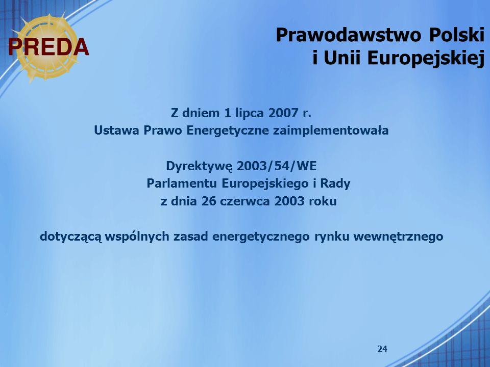 Prawodawstwo Polski i Unii Europejskiej