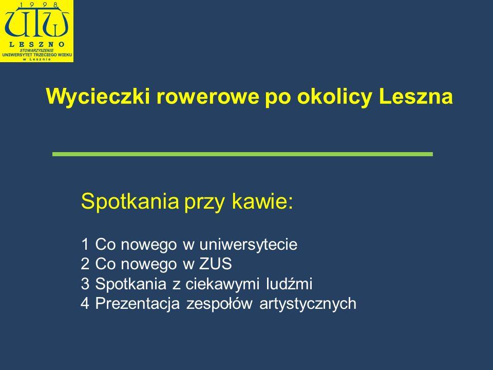 Wycieczki rowerowe po okolicy Leszna