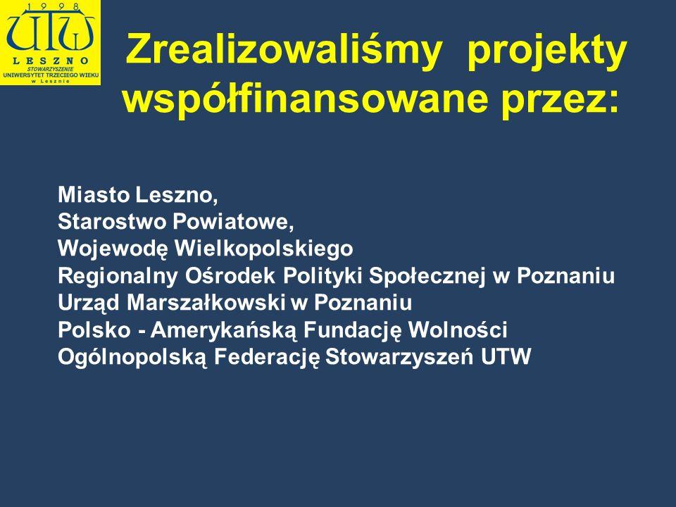 współfinansowane przez: