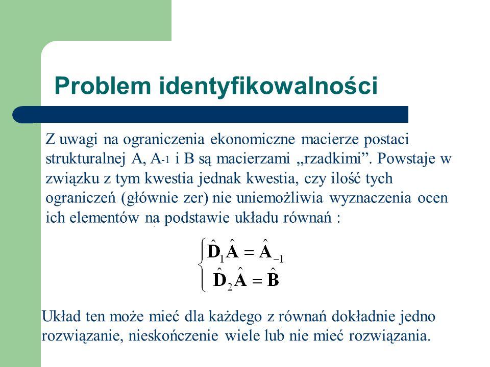 Problem identyfikowalności