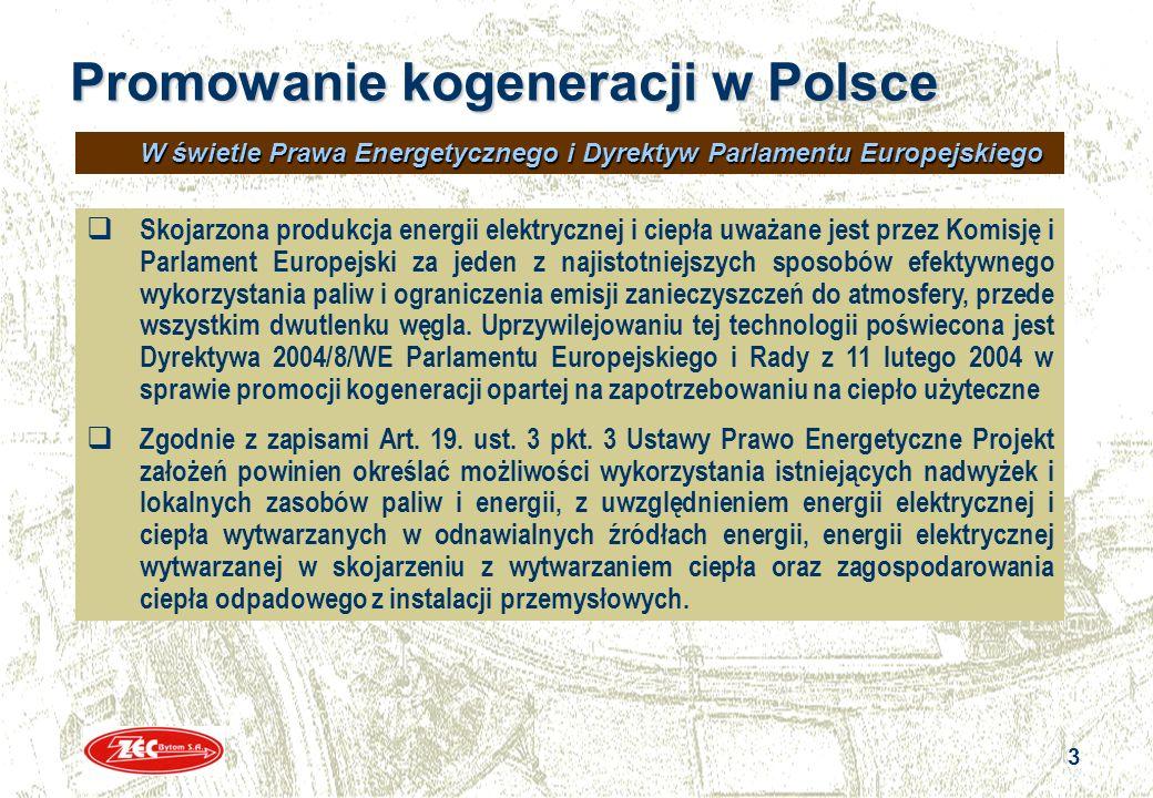 Promowanie kogeneracji w Polsce