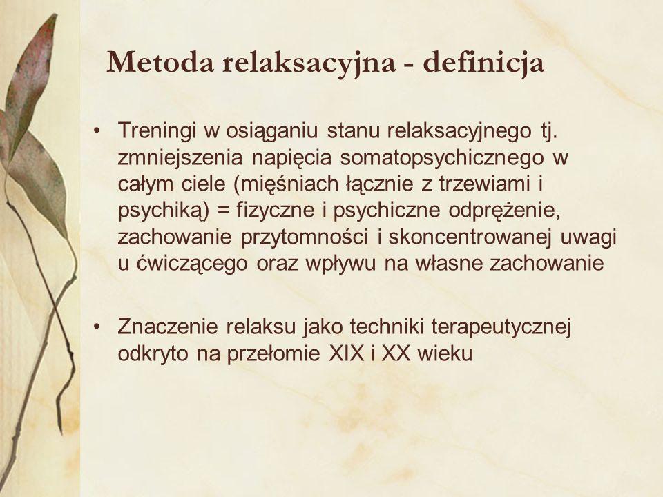 Metoda relaksacyjna - definicja