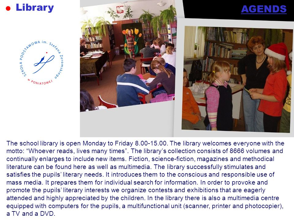 Library AGENDS.