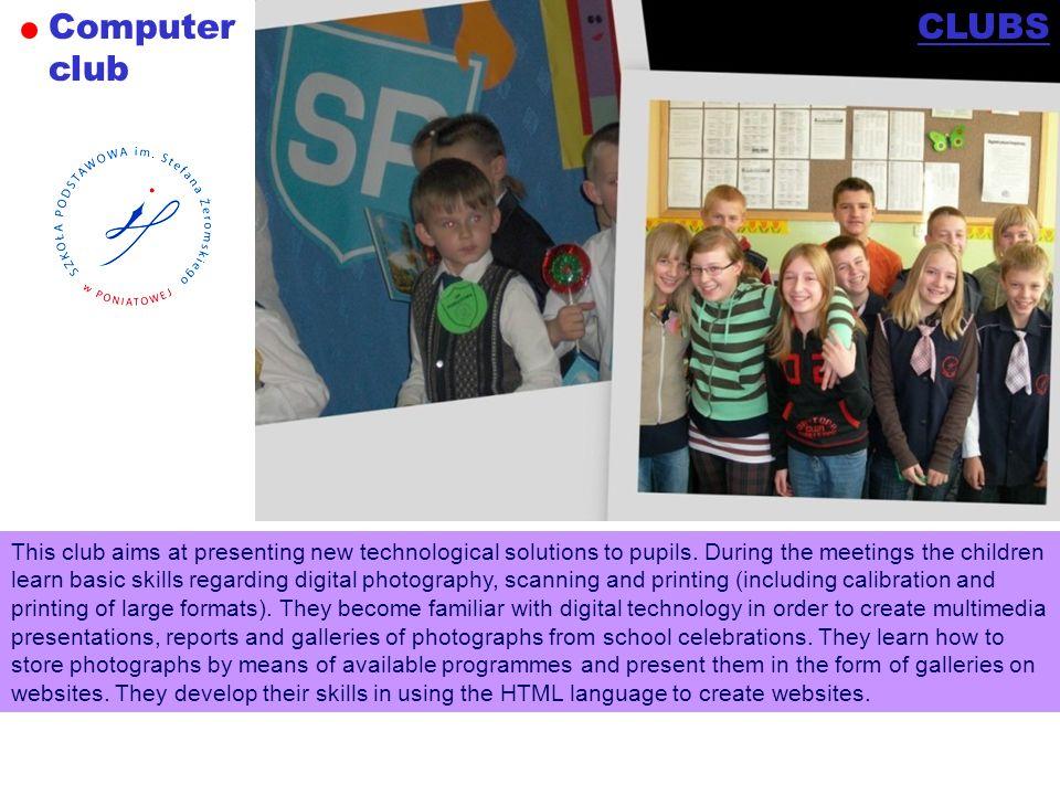 Computer club CLUBS.