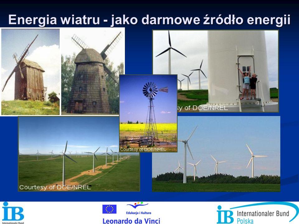 Energia wiatru - jako darmowe źródło energii