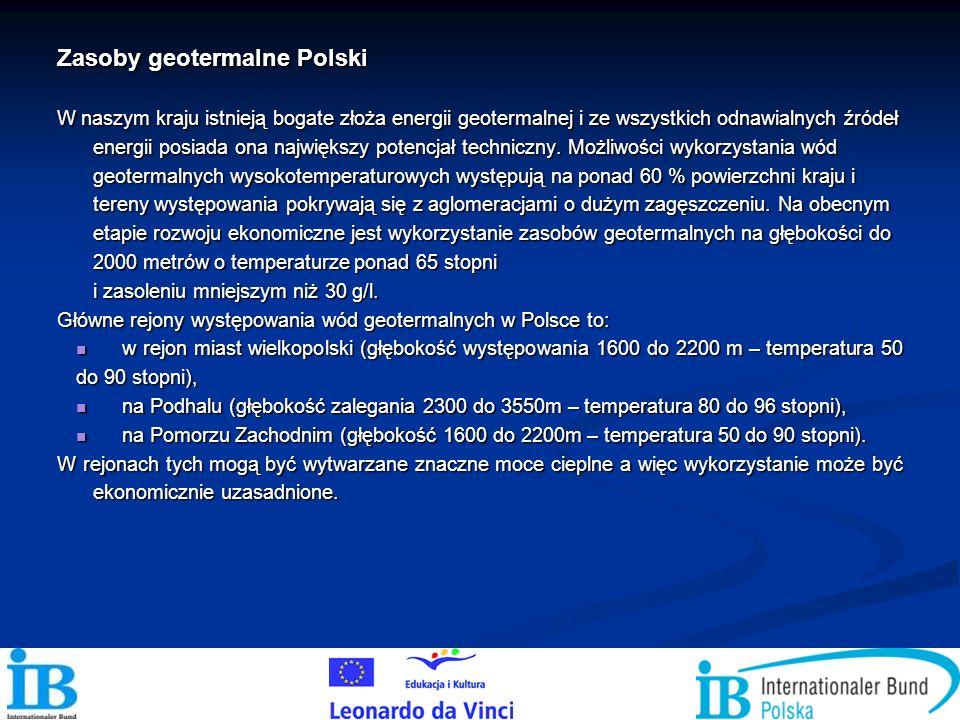Zasoby geotermalne Polski