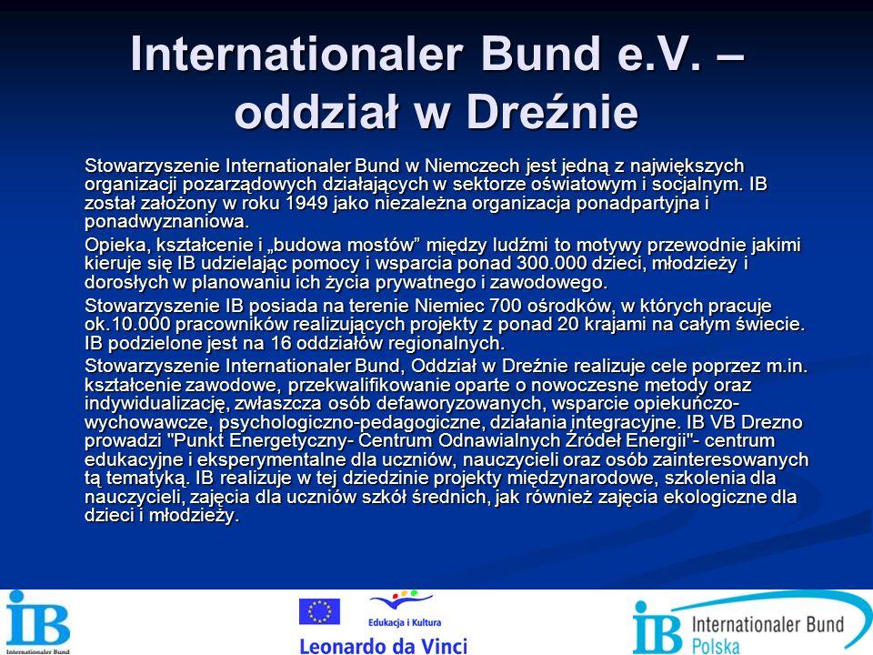 Internationaler Bund e.V. – oddział w Dreźnie