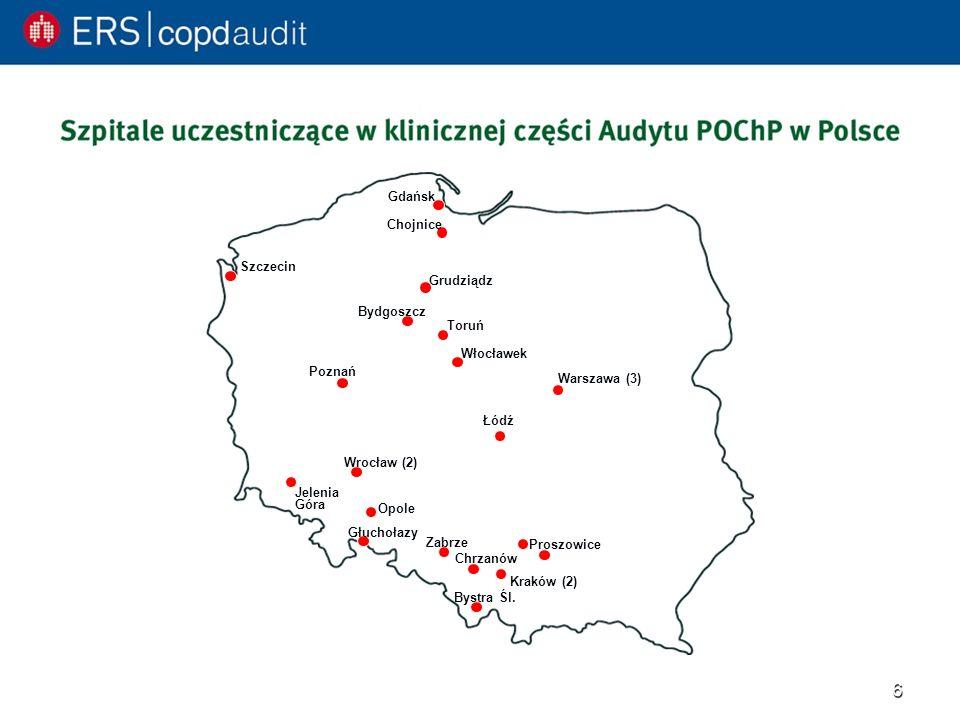Poznań Łódź. Proszowice. Szczecin. Jelenia. Góra. Wrocław (2) Opole. Głuchołazy. Kraków (2)