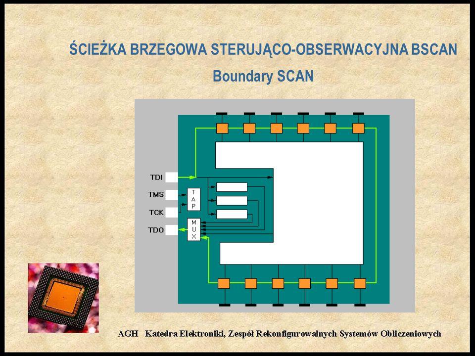 ŚCIEŻKA BRZEGOWA STERUJĄCO-OBSERWACYJNA BSCAN Boundary SCAN