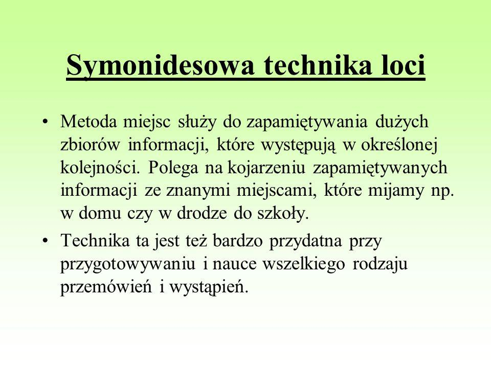 Symonidesowa technika loci