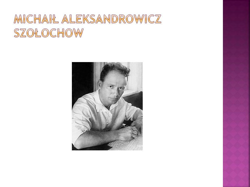 Michaił Aleksandrowicz Szołochow