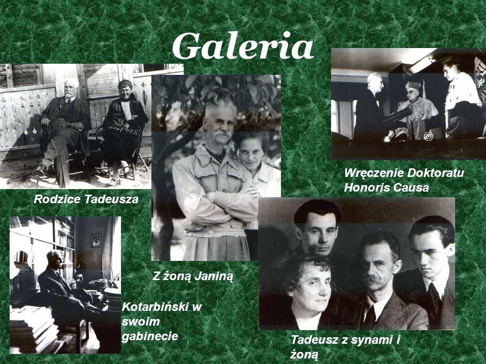 Galeria Wręczenie Doktoratu Honoris Causa Rodzice Tadeusza