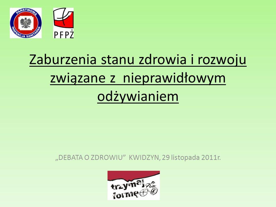 """""""DEBATA O ZDROWIU KWIDZYN, 29 listopada 2011r."""
