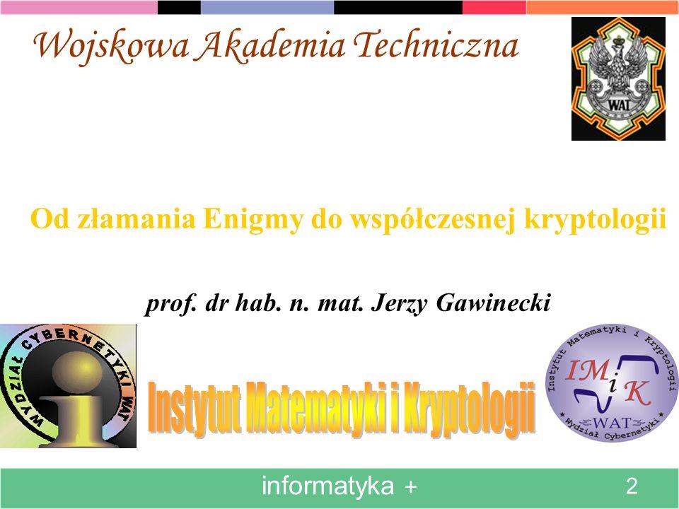 Instytut Matematyki i Kryptologii