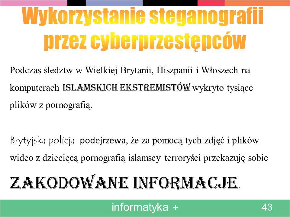 Wykorzystanie steganografii przez cyberprzestępców