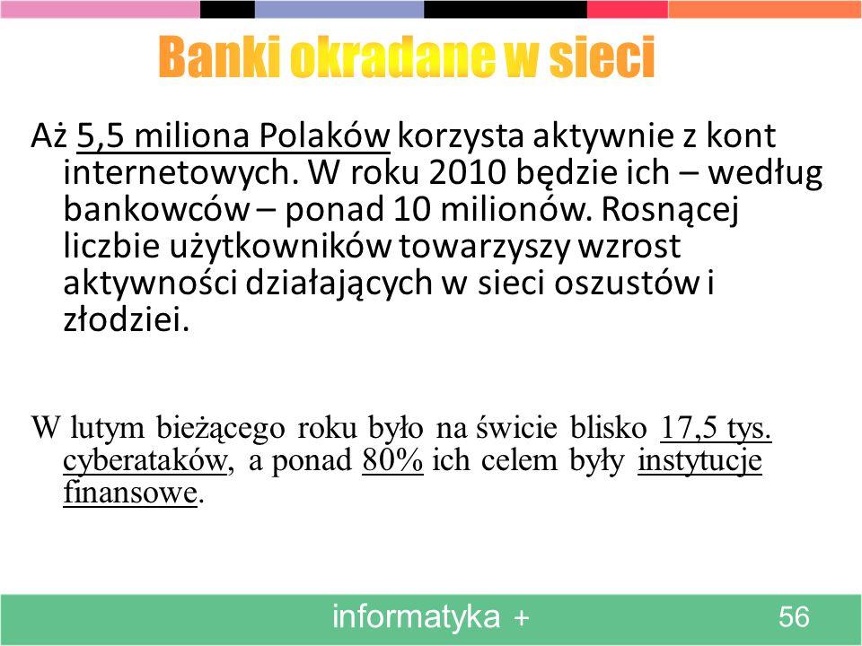 Banki okradane w sieci