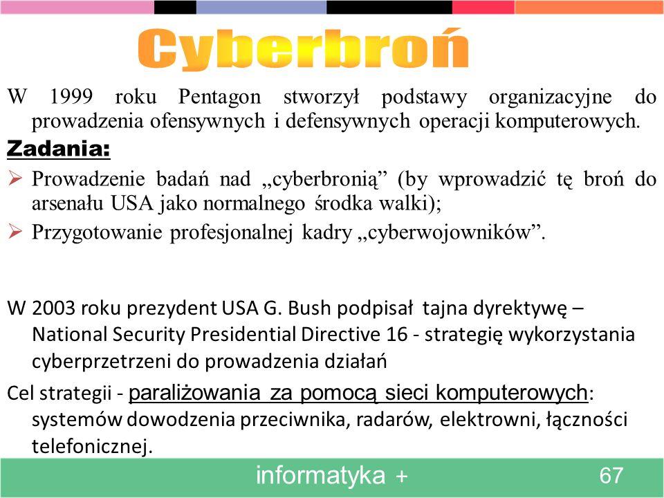 Cyberbroń informatyka +